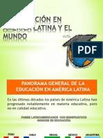 educación en america latina y el mundo