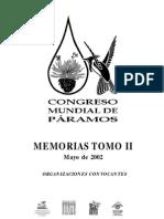 Congreso Mundial de Paramos Tomo II