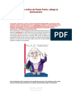 El enfoque crítico de Paulo Freire