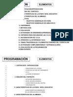 ELEMENTOS DE LA PROGRAMACIÓN1