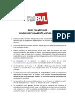Bases y Condiciones Reto Virtual 2013