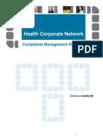 Complaints Management Process