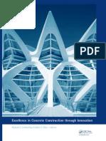Excellence in Concrete Construction Through Innovation [Conf. Procs] - M. Limbachiya, Et. Al., (CRC, 2009) BBS