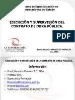 23 Ejecucion Supervision Obra CGR
