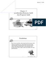 Auditing Ch 13 Keseluruhan Rencana Audit Program Audit
