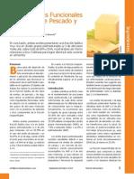 Componentes Funcionales en Aceites de Pescado y Algas