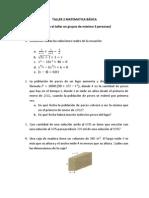 Taller 2 Matematica Basica