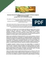 Declaratoria Final Istmo en La Encrucijada