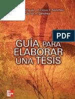 LIBRO- GUIA PARA ELABORAR UNA TESIS- DOMÍNGUEZ SILVIA
