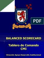 Balanced Scorecard - Uchile