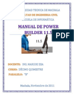 Manual Power Builder