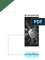 Guia Pratico Dos Sistemas Evolution SEM FIO Sennheiser
