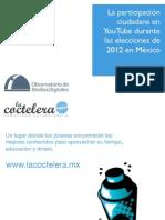 La participación ciudadana en YouTube en las elecciones de 2012