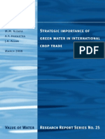 Report 25-Green Water International Trade