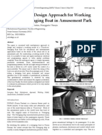Mechatronics Design Approach for Working Model of Swinging Boat in Amusement Park
