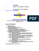 Businesscol - Balanced Scorecard