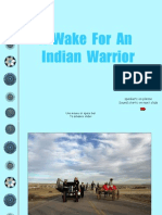 A Wake for an Indian Warrior