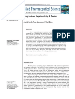 Drug-Induced Hepatotoxicity a Review