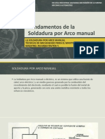 Fundamentos de La Soldadura Por Arco Manual