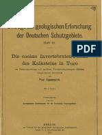 Die Eocane Invertebraten-Fauna des Kalksteins in Togo