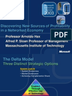 Sesión 8 - Delta Model - New Sources of Profitability - Prof Arnoldo Hax