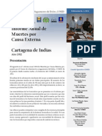 COSED Informe Anual 2013