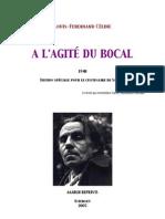 Celine Louis-Ferdinand - A l Agite Du Bocal
