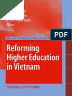 Reforming Higher Edu in Vietnam