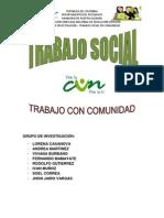 Trabajo Social en Una Comunidad