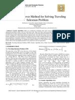 Shared Crossover Method for Solving Traveling Salesman Problem