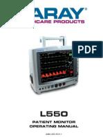 Operation Manual L550