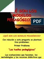 LOS MODELOS PEDAGÓGICOS 1
