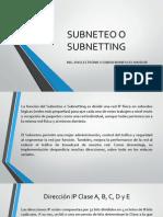 Subnet Eo