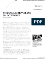 Popular Mechanics - Suspension Repair and Maintenance