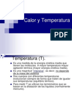 Calory Temperatura