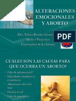 Alteraciones Emocionales y Aborto[1]