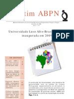 Boletim Informativo da Associação Brasileira de Pesquisadores Negros e Negras - setembro de 2008 -Ano I nº 1