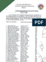 PRBRES Resolution 5-2013