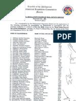 PRBRES Resolution 6-2013