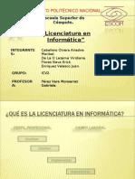 Licenciatura en informática 1cv2