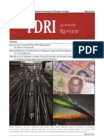 TDRI Quarterly Review March 2013