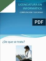Lic. en Informatica 1CV1