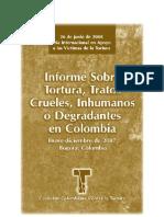 Informe Sobre Tortura Tratos Crueles Inhumanos o Degradantes - 2007
