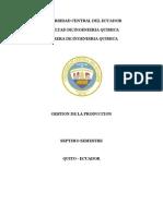 Gestion de La Produccion (Consulta)
