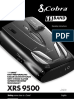 Cobra XRS9500 Manual