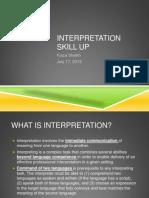 Japanese-English  Interpretation  Tips