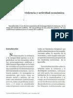 Bejarano, Jesús (1997). Inseguridad, violencia y actividad económica