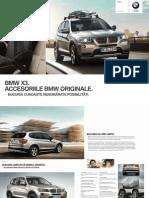 Bmw Accessories Catalogue x3