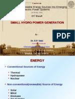 SmallHydro Power Generation-IIT Mandi May16