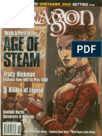 Dragon Magazine 277 - Steampunk